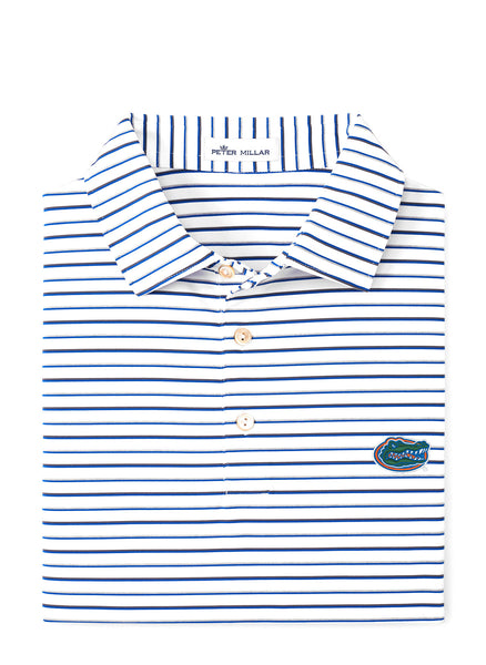 Wiggs Stripe Stretch Polo UF