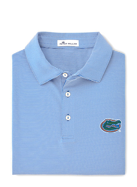 Jubilee Stripe Stretch Polo UF