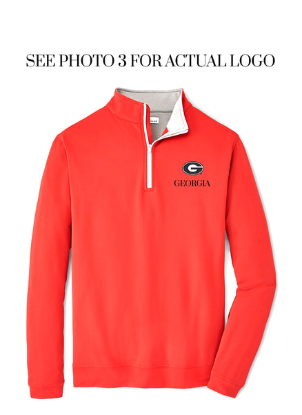 Perth Stretch Solid 1/4 Zip UGA