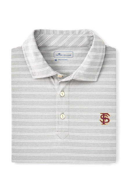 Dunns Stripe Polo FSU
