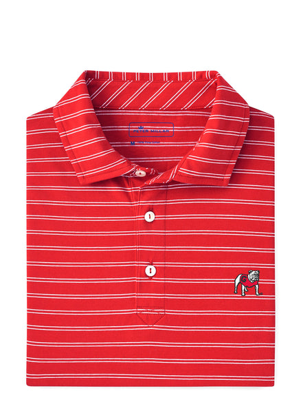 Dunns Stripe Polo UGA