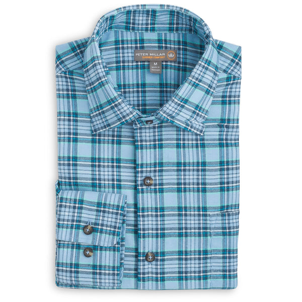 Grohl Performance Plaid Flannel Shirt