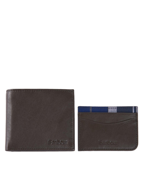 Leather Wallet/Card Gift Set