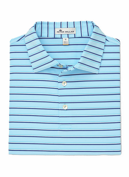 Station Stripe Stretch Jrsy Polo