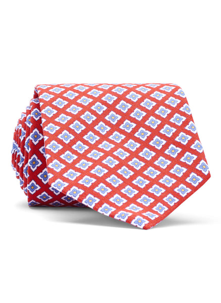 Whimsical Flower Neat Tie