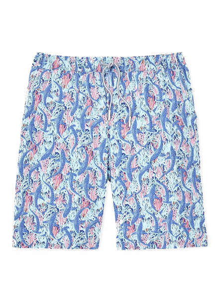 Sharks Swim Trunks