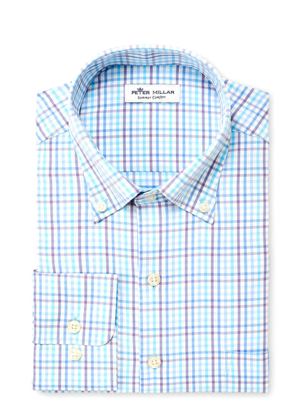 Oliver Multi Check Performance Sport Shirt