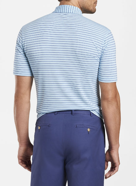 Dri-Release Natural Touch Stripe Polo