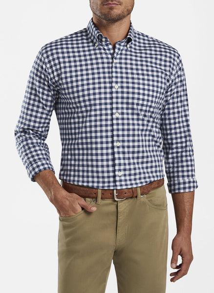Hudson Cotton Blend Sport Shirt