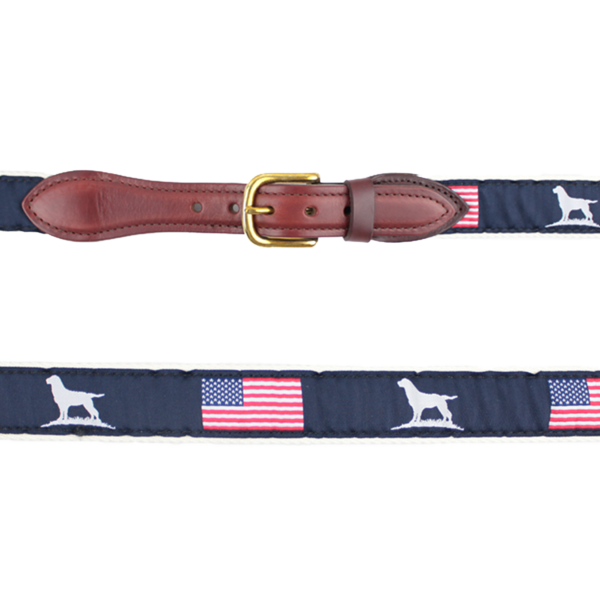 Youth Patriot Ribbon Belt