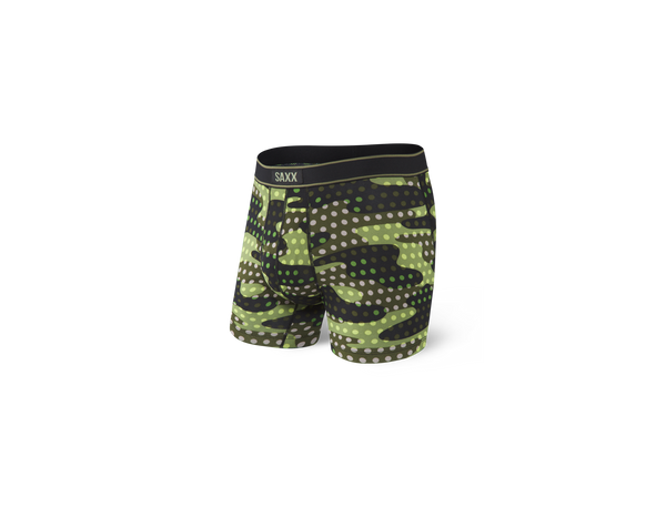 Day Tripper Boxer Brief Blk Polka Camo