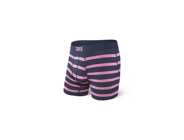 Vibe Boxer Brief Think Pink Stripe
