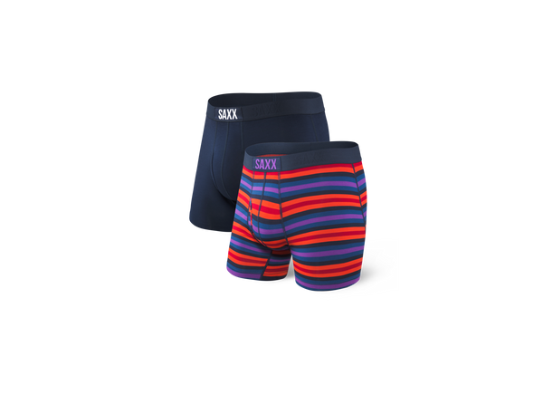 Ultra Boxer Brief 2Pk Tropical Stripe