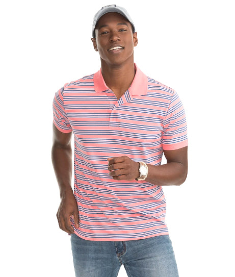 Beach Way Stripe Polo