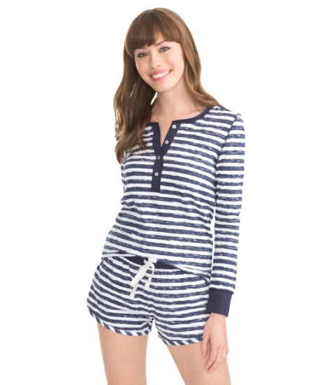 Ws Letti Sleep Set Nautical Navy