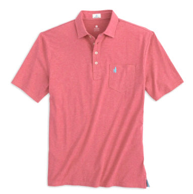 Heathered Original Hangin Out Polo