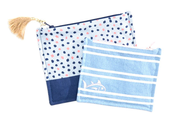 Ws Skipjack Pouch Set Blue Night