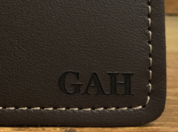 Horween Business Card Holder