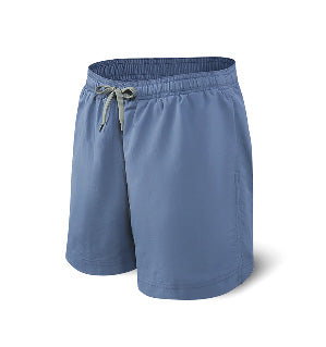 "7"" Cannon Ball 2 In 1 Swim Shorts - Ink"
