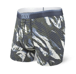Quest Boxer Brief Navy Mountain Camo