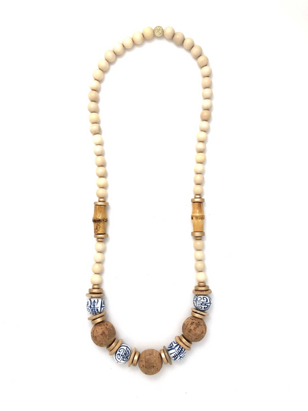 Long Chinoiserie Classic Necklace