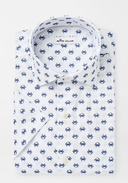 Seaside Blue Crab SS Shirt