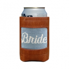 Bride (Antique Blue) Needlepoint Koozie