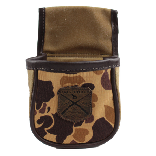 Old School Camo Shell Pouch - Small