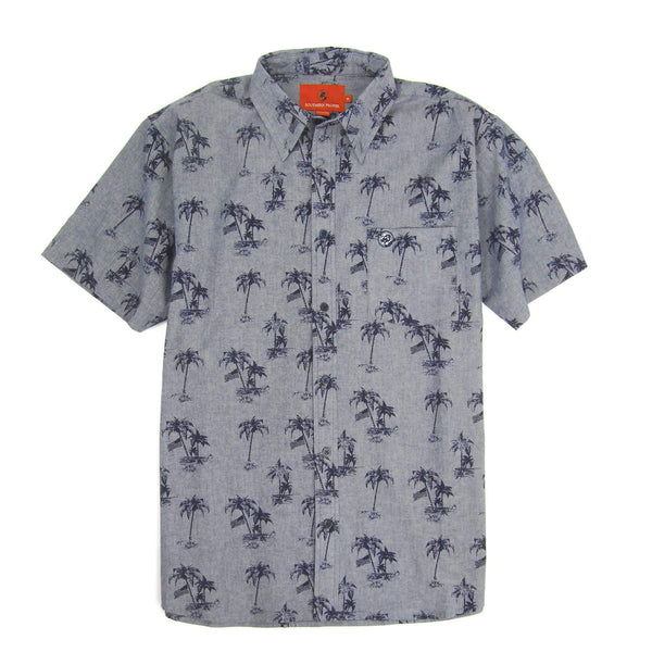 Social Shirt Chambray Palm