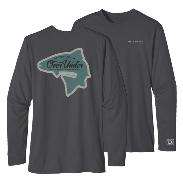 L/S Timber Tech Brook Trout T-Shirt
