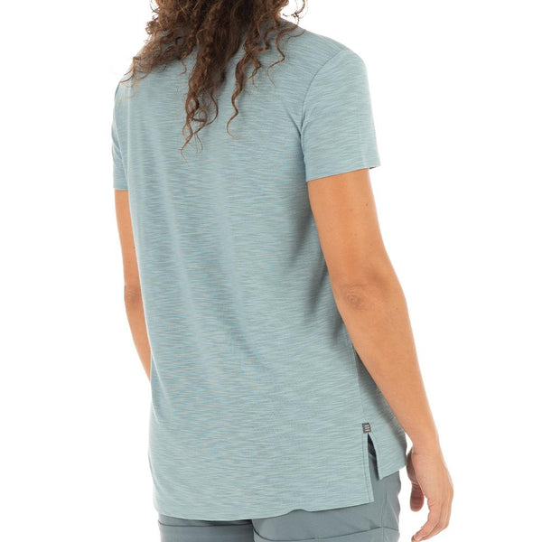 Ws Bamboo Slub Channel Pocket T-Shirt
