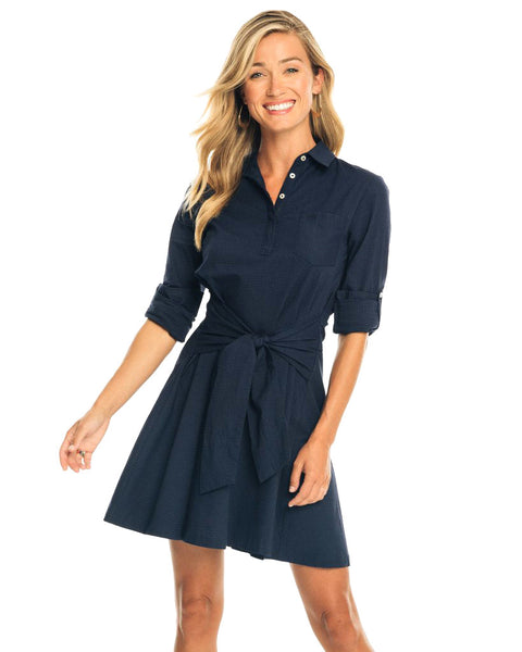 Aliyah Tie Shirtdress