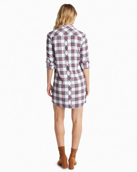 Ws Alyssa Shirtdress Wintertime Plaid