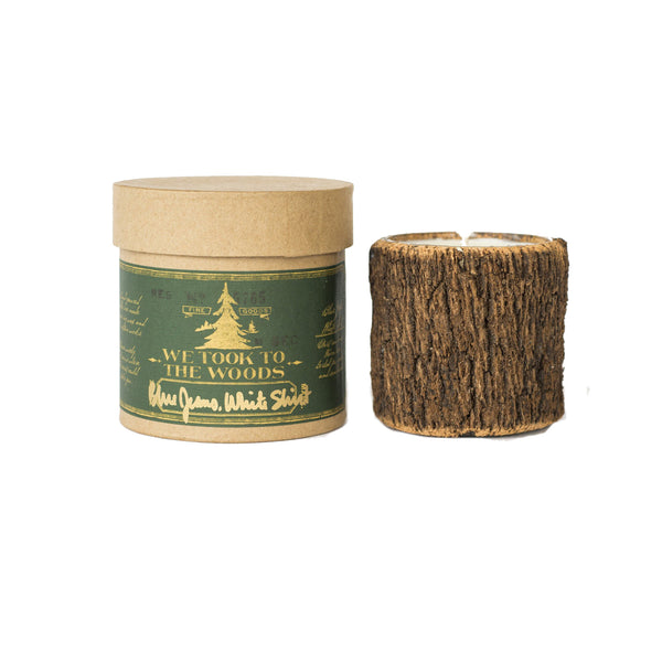 Bark Candles - Blue Jeans, White T-Shirt