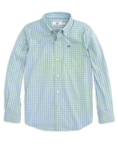 Youth Jibe Plaid IC Sport Shirt
