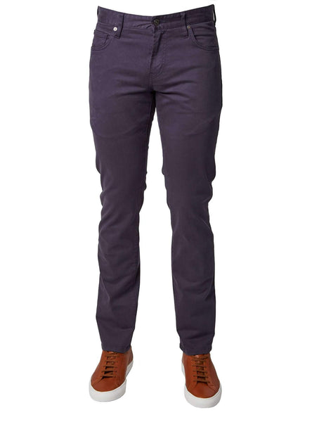 Clifton 5 Pocket Sateen Twill Pant -  Slate