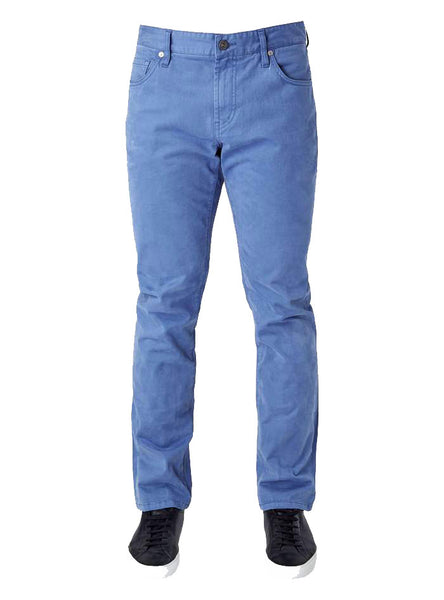Clifton 5 Pocket Sateen Twill Pant - Blue