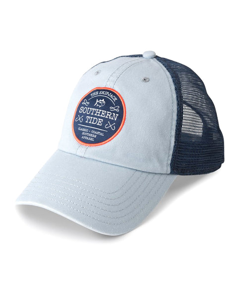 Hook Crest Trucker Hat Fog