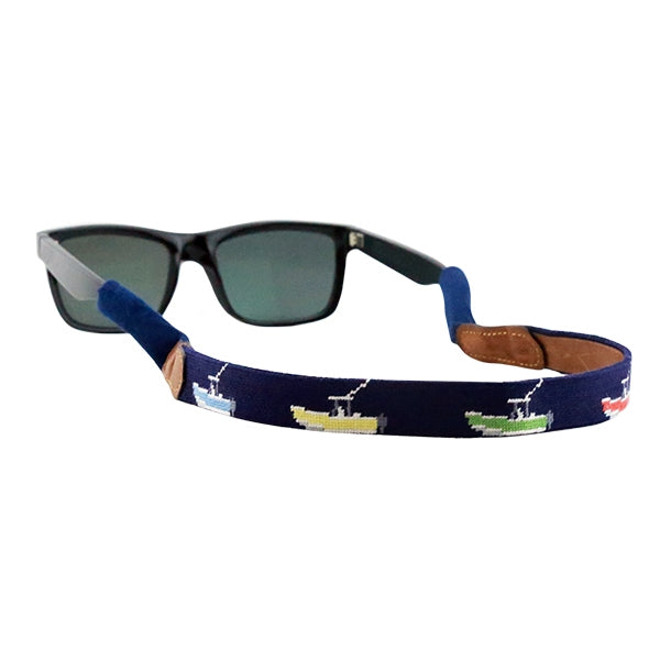 Power Boat (Navy) Sunglass Strap