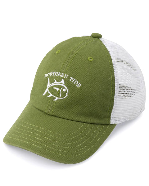 Youth Skipjack Embroidered Trucker Hat