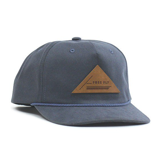 Lowcountry Skiff Snapback Hat Washed Navy