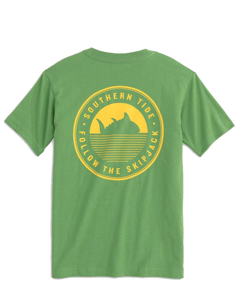 Youth Skipjack Circle Patch T-Shirt