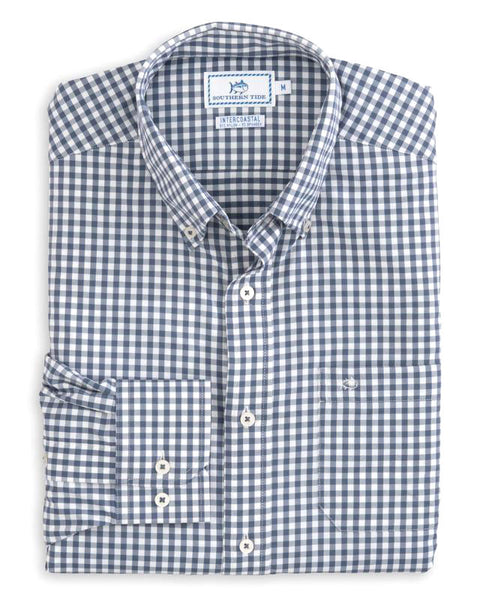 Bufflehead Gingham IC Sport Shirt