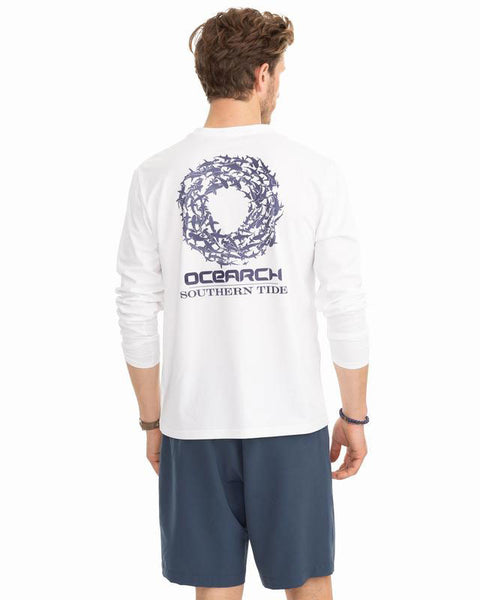 LS Shark Circle Perf T-Shirt