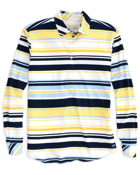Ws Striped Hadley IC Perf Popover