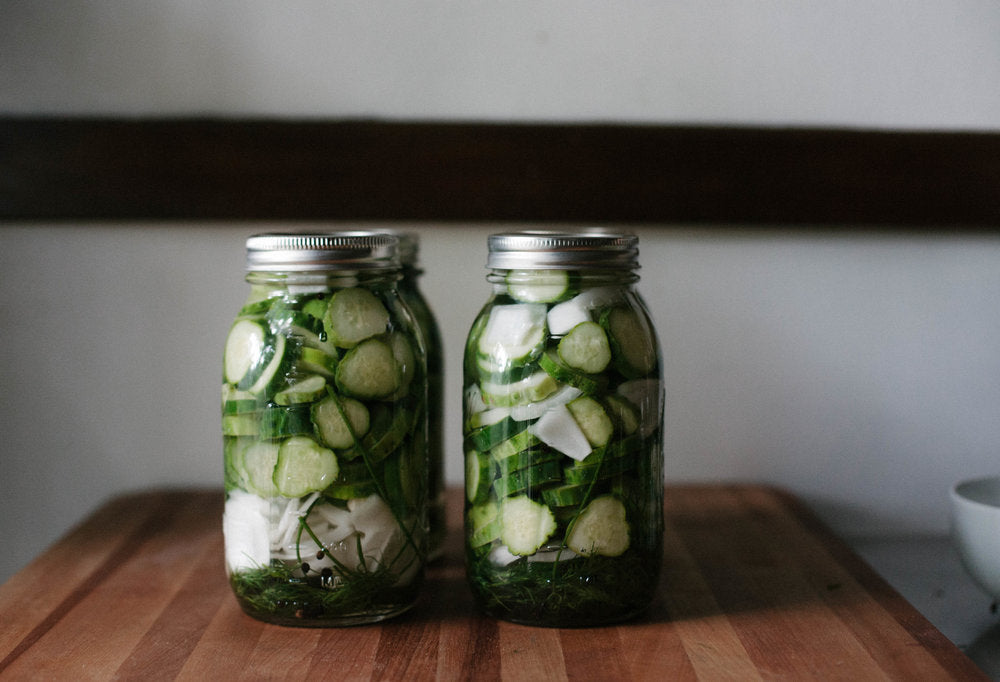 SUMMER TRADITION: HOMEMADE PICKLES