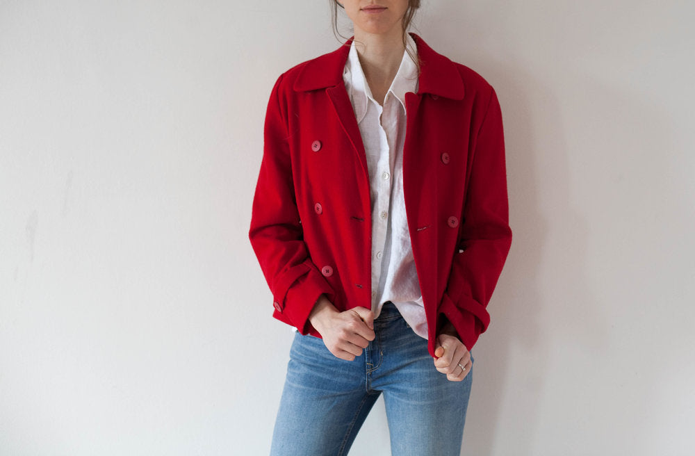 Cherry Red Jacket