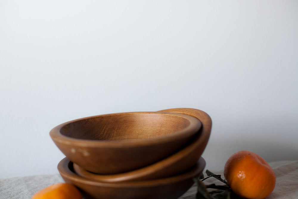 Mid-Century Serving Bowls - Set of 3