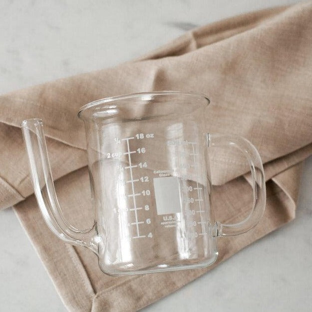 Glass Measuring Vessel