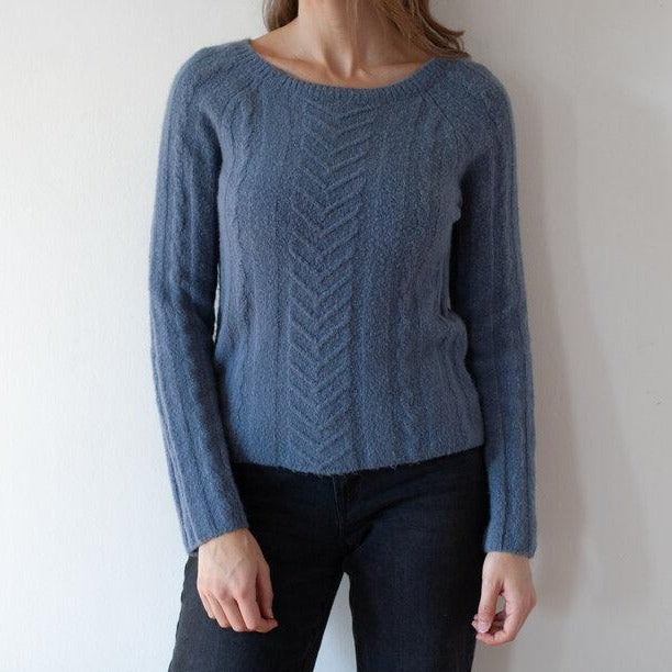 Dusty Blue Sweater